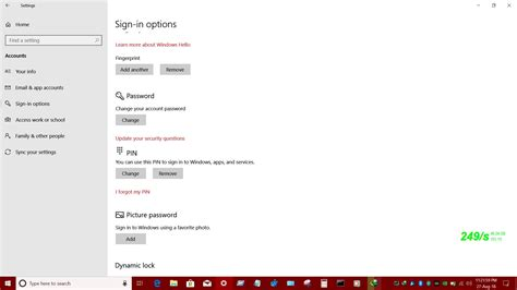 "Only use ""Picture Password"" in Windows 10 - Microsoft"