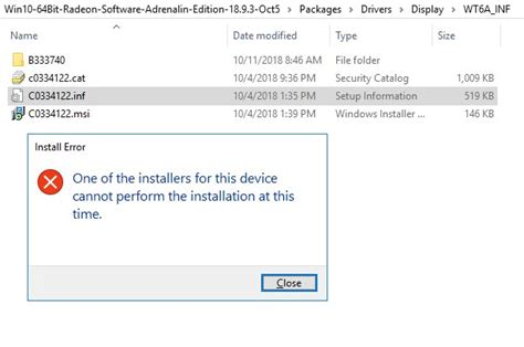 Cannot install GPU device drivers