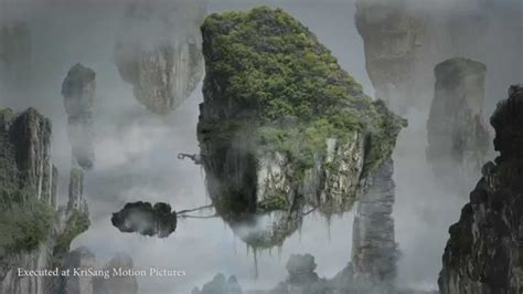 Floating Mountains Scene Recreated ( Matte Painting Video