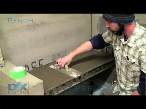 Tile Shower Bench Installation - How To Install Dix