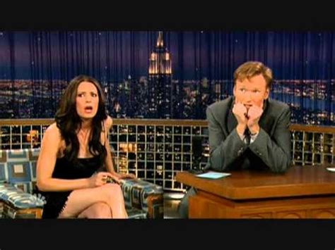Fire Alarm Moment & Paget Brewster - 10/15/07 - YouTube