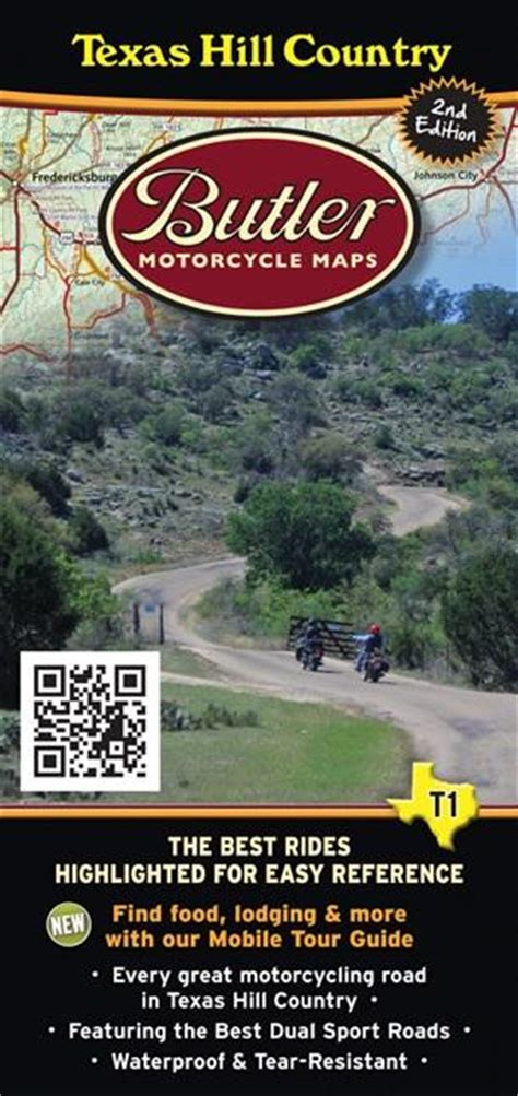 Butler Motorcycle Maps - Texas Hill Country