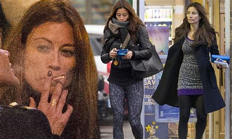 Melanie Sykes shows off her gym-honed body in a sexy mini