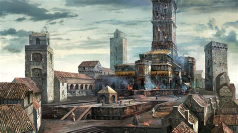 19 Never Seen Before The Witcher 3 Concept Art Leaked From